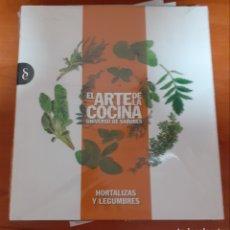 Libros: EL ARTE DE LA COCINA HORTALIZA Y LEGUMBRE. Lote 248590310