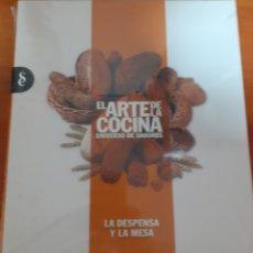 Libros: EL ARTE DE LA COCINA LA DESPENSA Y LA MESA. Lote 248590790
