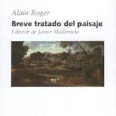 Livres: BREVE TRATADO DEL PAISAJE. Lote 252411385