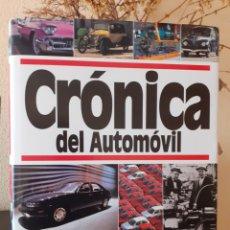 Libros: CRONICA DEL AUTOMOVIL. Lote 253864795