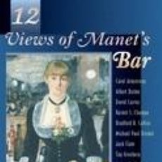 Libros: TWELVE VIEWS OF MANETS BAR. Lote 254545530