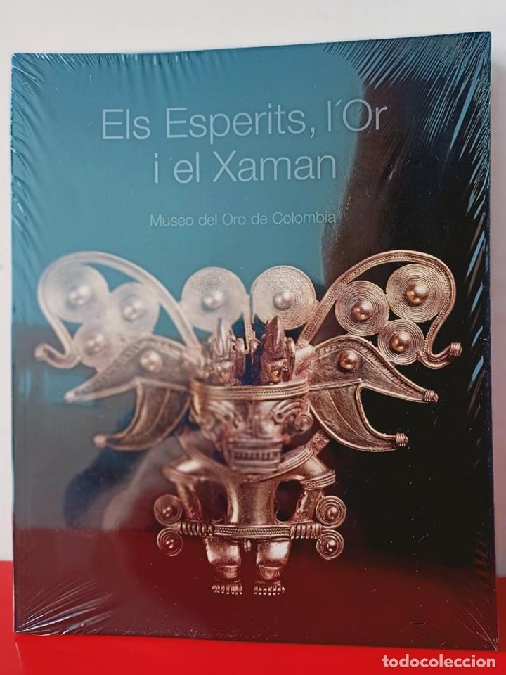 ELS ESPERITS, L'OR I EL XAMAN / PRECINTADO / MUSEO DEL ORO DE COLOMBIA / EDI. LA CAIXA / EDICIÓN 200 (Libros Nuevos - Bellas Artes, ocio y coleccionismo - Otros)