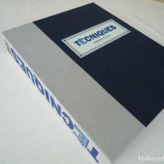 """Libros: LIBRO DE BIBLIÓFILO """"TECNIQUES"""" DE MIQUEL PLANA. Lote 256119250"""