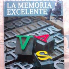 Libros: MEMORIA EXCELENTE - JOSÉ FCO. GONZÁLEZ RAMÍREZ. Lote 257905355