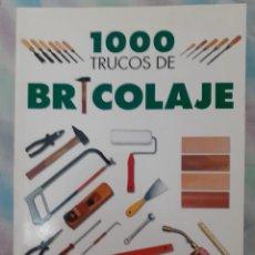 Libros: 1.000 TRUCOS DE BRICOLAJE. Lote 257906925
