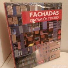 Libros: FACHADAS, INNOVACION Y DISEÑO, V.V.A.A., ARQUITECTURA-DISEÑO, LINK, 2008. Lote 260082110