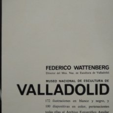 Libros: MUSEO NACIONAL ESCULTURA VALLADOLID. Lote 261202430