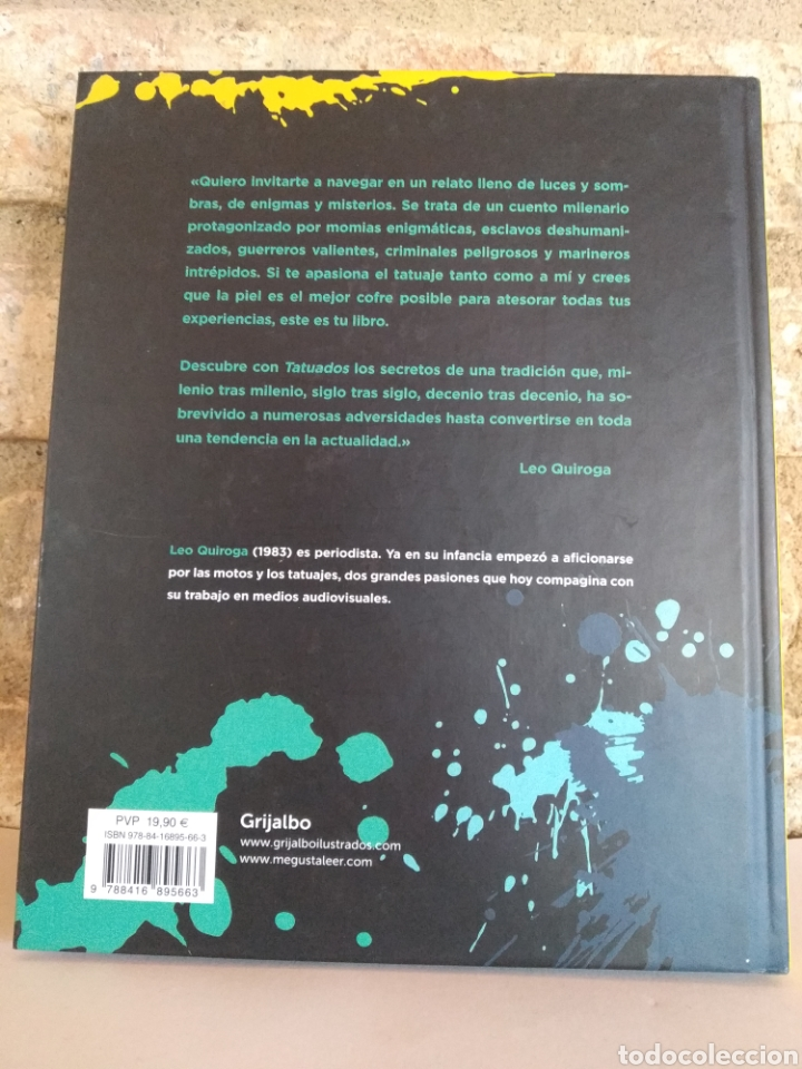 Libros: Tatuados. Leo Quiroga. Grijalbo. El mundo del tatuaje de la transgresión a la tendencia - Foto 2 - 262275535
