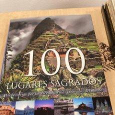 Libros: LIBRO 100 LUGARES SAGRADOS. Lote 263019745
