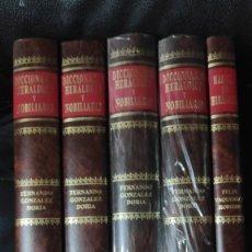 Libros: DICCIONARIO HERALDICO Y NOBILIARIO 5 TOMOS ( FERNANDO GONZALEZ DORIA ). Lote 263249820