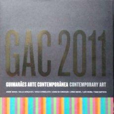 Libros: GUIMARÂES ARTE CONTEMPORÁNEA.CONTEMPORARY ART. VVAA. 2011.. Lote 268575409