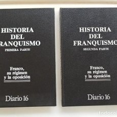 Libros: HISTORIA DEL FRANQUISMO, 2 TOMOS. Lote 270352973