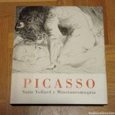 Libros: PICASSO. SUITE VOLLARD Y MINOTAUROMAQUIA. Lote 273246178