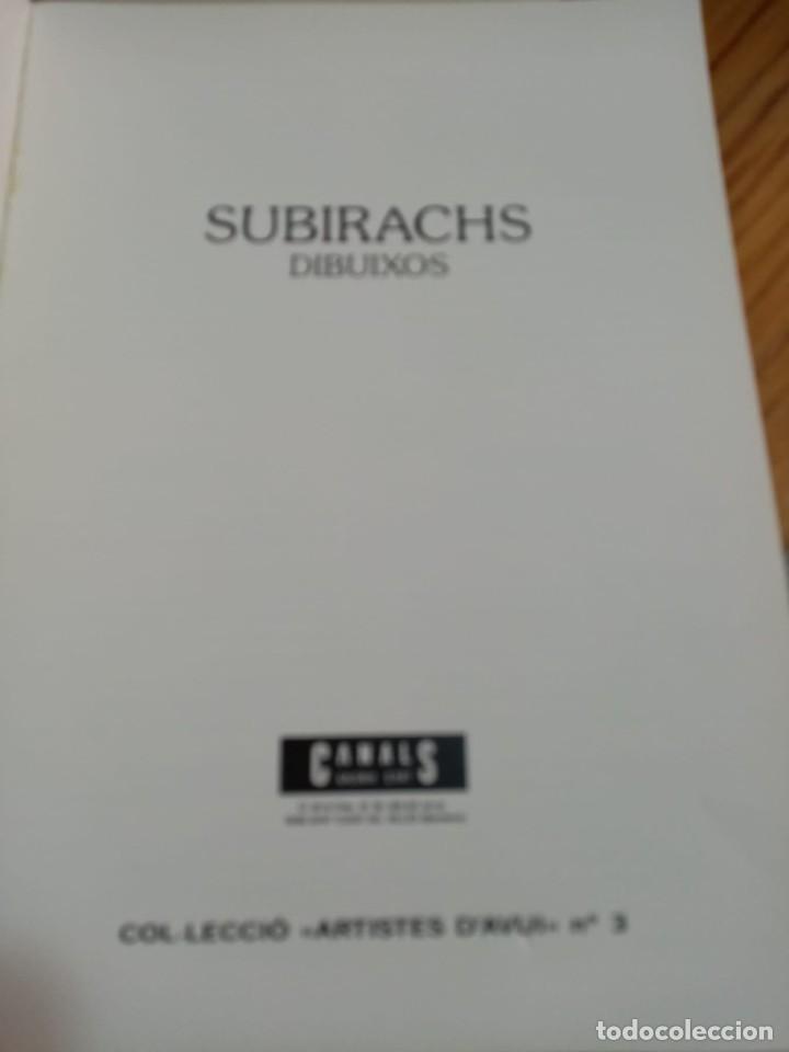 Libros: Libro de dibujos de Subirachs - Foto 3 - 277167203