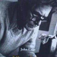 Libros: VISUAL ART: JONH CAGE EN CONVERSACIÓN CON JOAN RETALLACK. Lote 277421888