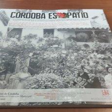 Libros: LIBRO CORDOBA ES PATIO 100 AÑOS DE PATIOS CENTENARIO DEL CONCURSO EXCLUSIVO. Lote 278303603