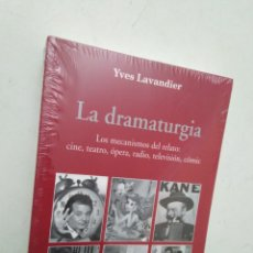 Libros: LA DRAMATURGIA, LOS MECANISMOS DEL RELATO : CINE, TEATRO, ÓPERA, RADIO, TELEVISIÓN, CÓMIC. Lote 283784938