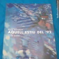 Libros: GRANDE LIBRO PRECINTADO DE BARCELONA 1992. Lote 287487443