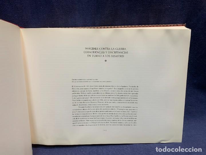 Libros: EL LIBRO DE LOS DESASTRES DE LA GUERRA FRANCISCO GOYA MUSEO NACIONAL DEL PRADO MADRID 2000 25X35X4CM - Foto 7 - 287997988