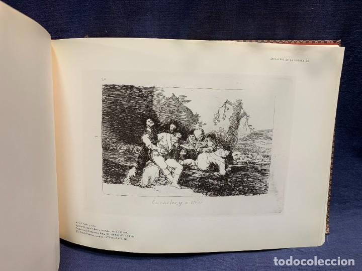 Libros: EL LIBRO DE LOS DESASTRES DE LA GUERRA FRANCISCO GOYA MUSEO NACIONAL DEL PRADO MADRID 2000 25X35X4CM - Foto 9 - 287997988