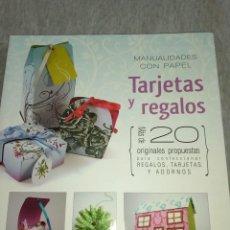 Libros: TARJETAS Y REGALOS. Lote 288372658