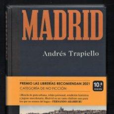 Libros: ANDRÉS TRAPIELLO MADRID ED DESTINO 11ª EDICIÓN COLECCIÓN IMAGO MUNDI CON FAJA 358 FOTOGRAFÍAS. Lote 289452383