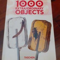 Libros: 1000 EXTRA/ORDINARY OBJECTS. TASCHEN. EN ESPAÑOL. Lote 291202193