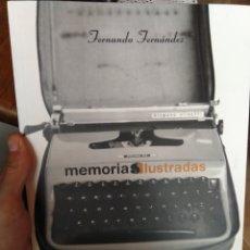 Libros: MEMORIAS ILUSTRADAS. FERNANDO FERNÁNDEZ. GLENAT. Lote 295045358