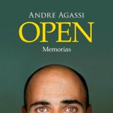 Libros: TENIS. BIOGRAFÍAS. OPEN. MEMORIAS - ANDRE AGASSI. Lote 52388545