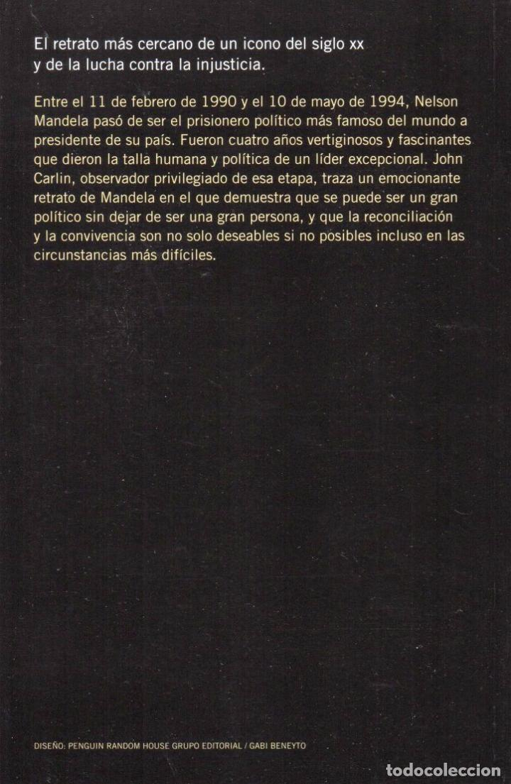 Libros: LA SONRISA DE MANDELA de JOHN CARLIN - PENGUIN RANDOM HOUSE, 2015 (NUEVO) - Foto 2 - 64129431