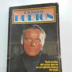 Libros: RICHARD BURTON GRANDES VIDAS. Lote 101048447