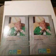 Libros: JUAN PABLO II, PREGONERO DE LA VERDAD , TOMOS I Y LL. Lote 104906908