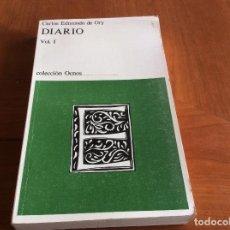 Libros: MEMORIAS DE C. EDMUNDO DE ORY. Lote 117488171