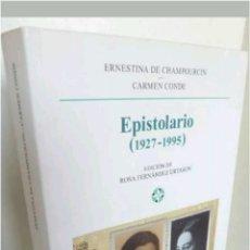 Libros: LIBRO EPISTOLARIO 1927 - 1995 CASTALIA 2007. Lote 117682735