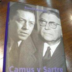 Libros: CAMUS Y SARTRE. RONALD ARONSON. Lote 124387119