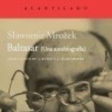 Libros: BALTASAR. Lote 125931203
