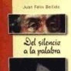 books - Del silencio a la palabra vida de juan zegrí Desclée De Brouwer - 70858267