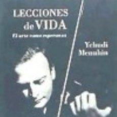 Libros: LECCIONES DE VIDA.. Lote 70777379