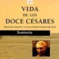 Libros: VIDA DOCE CESARES. Lote 133793950