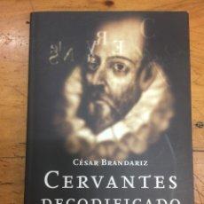 Libros: LIBRO CERVANTES DECODIFICADO. Lote 133905493