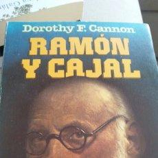Libros: RAMON Y CAJAL. DOROTEO F. CANNON. Lote 134091554