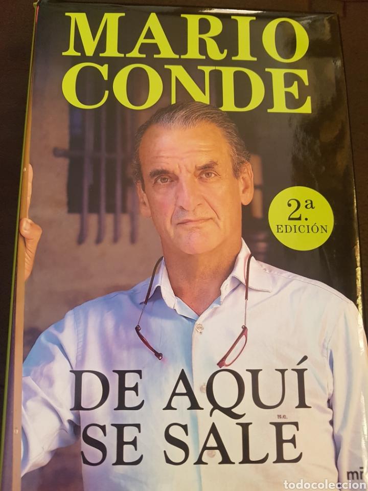 DE AQUÍ SE SALE (Libros Nuevos - Literatura - Biografías)