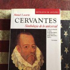 Libros: CERVANTES, SIMBOLOGÍA DE LO UNIVERSAL. Lote 140499693