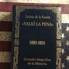 Libros: VALIÓ LA PENA. Lote 140502170