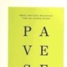 Libros: AQUEL ANTIGUO MUCHACHO VIDA DE CESARE PAVESE. Lote 142385038