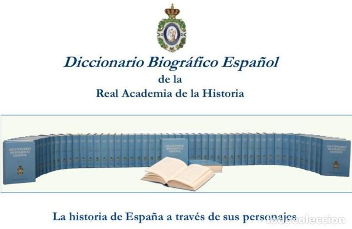 DICCIONARIO BIOGRÁFICO ESPAÑOL. 50 TOMOS. REAL ACADEMIA DE LA HISTORIA. 2018. (Libros Nuevos - Literatura - Biografías)