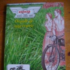 Libros: LIBRO LA HISTORIA DE VILLOF MOTOR CLASICO VICENTE BELDA. Lote 143995032