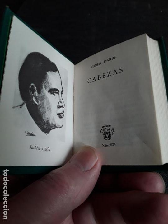 Libros: Darío Rubén. Cabezas. (Crisol N.º 024). Biografías de personajes literarios del momento. - Foto 2 - 147566490