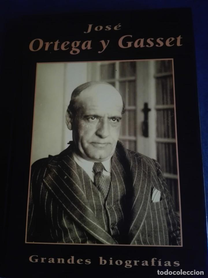 JOSÉ ORTEGA Y GASSET GRANDES BIOGRAFÍAS AUTOR MERCEDES MARTÍN LUENGO (Libros Nuevos - Literatura - Biografías)