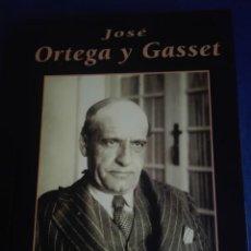 Libros: JOSÉ ORTEGA Y GASSET GRANDES BIOGRAFÍAS AUTOR MERCEDES MARTÍN LUENGO. Lote 167742504